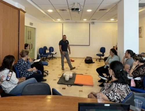 Latin Patriarchate holds first aid workshop for women of the Old City.