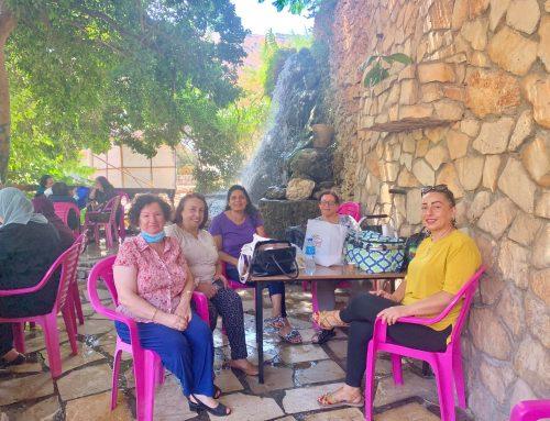 Elders of Birzeit and Atara Visit the Wadi Al-Bathan in Nablus.