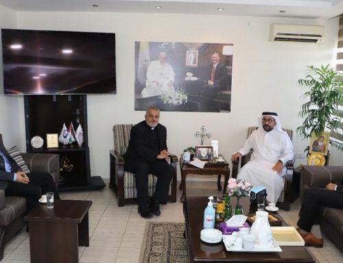 Jordan: Secretary general of the Muslim Council of Elders holds talks at CCSM.