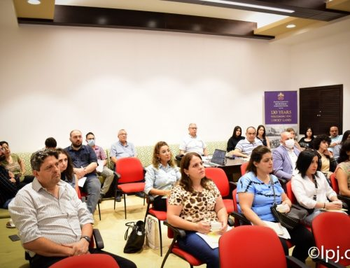 Latin Patriarchate organizes safeguarding training for its employees.