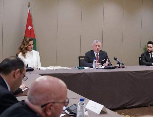 Mr. Rateb Rabie, JPI Chair, Board of Directors, met with His Majesty King Abdullah.