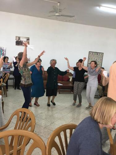 BSCC dabke wih elders